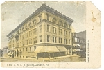Click here to enlarge image and see more about item p12092: Lancaster, PA, YMCA Building Postcard 1919