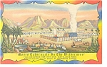 Click here to enlarge image and see more about item p12119: Moses Tabernacle in The Wilderness Postcard