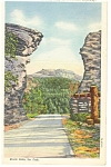 Harney Peak,Mt Rushmore Hwy, SD Postcard 1944