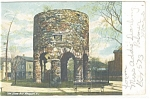 Click here to enlarge image and see more about item p12139: Old Stone Tower Newport RI Postcard p12139