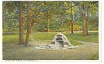 Click here to enlarge image and see more about item p12148: Spangler's Spring Gettysburg PA Postcard p12148