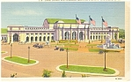 Washington, DC, Union Station Postcard 1942