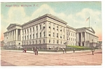 Washington, DC, Patent Office Postcard 1910