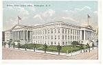 Washington, DC, Patent Office Postcard