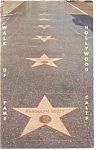Hollywood, CA Walk of Fame Postcard