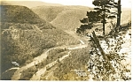 Click here to enlarge image and see more about item p12190: Pennsylvania Grand Canyon, RPPC p12190