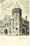 York, PA, Post Office Postcard ca 1907