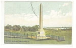 Valley Forge, PA, Soldier's Monument Postcard 1910