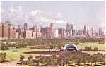 Chicago IL Skyline Postcard