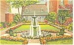 Richmond,VA, Edgar Allen Poe Shrine Postcard