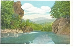 Click here to enlarge image and see more about item p12266: Camel's Hump From Winooski River VT Postcard