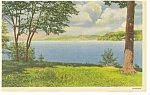 Lake Bomoseen in Vermont Postcard