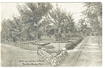 Click here to enlarge image and see more about item p12281: Benton Harbor, MI House of David Park Postcard
