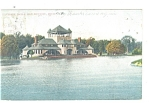 Click here to enlarge image and see more about item p12282: Detroit MI  Belle Isle Pavilion Postcard p12282 1906