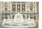 Click here to enlarge image and see more about item p12289: Detroit, MI , Palmer Fountain Postcard