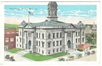 Pontiac, MI , Court House Postcard