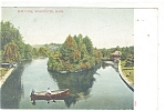Worcester, MA Elm Park Postcard 1907