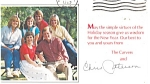 Christmas Card From the Carvers Political  Postcard
