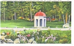 Click here to enlarge image and see more about item p12391: Entrance to Acadia National Park .ME Postcard