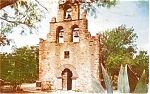 Mission San Francisco Texas Postcard