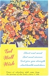 Get Well Postcard p12434 Acts 3: 19b