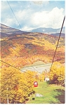 Pinkham Notch,NH, Wildcat Mt Gondola Tramway Postcard