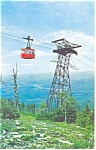 Click here to enlarge image and see more about item p12458: Franconia Notch NH Aerial Tramway Postcard p12458