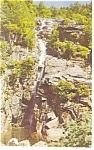 Crawford Notch,NH, Silver Cascade Postcard