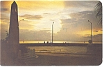 Click here to enlarge image and see more about item p12486: Sunset at Cozumel Mexico Postcard p12486