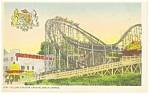 Click here to enlarge image and see more about item p12527: Cyclone Coaster Crystal Beach Canada Postcard p12527