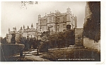 Bolsover Castle, UK Real Photo Postcard ca 1910