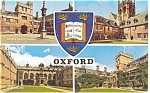 Click here to enlarge image and see more about item p12549: Oxford University United Kingdom Postcard p12549 1967