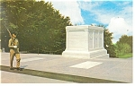 Tomb of the Unknown Soldiers Postcard