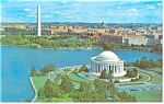 Washington,DC, Jefferson Memorial Postcard