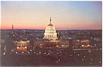Washington,DC, US Capitol at Night Postcard
