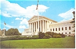Washington,DC, US Supreme Court Bldg Postcard
