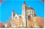St Louis,MO, Cathedral Exterior Postcard