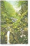 Omega Falls,Watkins Glen, NY, Postcard