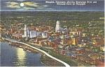 Memphis Tennessee Riverside Drive  Postcard