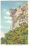Old Man Of The Mountain, NH,Postcard 1934