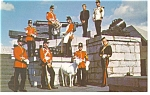 Old Fort Henry Kingston Ontario Canada Postcard p12717