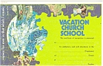 Come to Vacation Church School Postcard