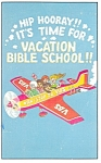 Its Time for VBS Postcard p12749