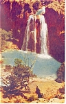 Click here to enlarge image and see more about item p12874: Havasu Falls Havasu Canyon Arizona Postcard p12874