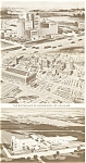Click here to enlarge image and see more about item p12875: Budweiser Breweries Lot (3) Postcards