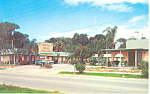 Tropical Palms Motel, Daytona Beach, FL Postcard