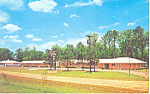 Town and Country Motel, Fayetteville, NC Postcard