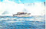 Maid of The Mist  Niagara Falls Postcard p12895