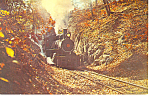 Wilmington and Western Railroad Steam Loco Postcard p12907