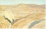 Denver and Rio Grande Western Steam Locos  Postcard p12910